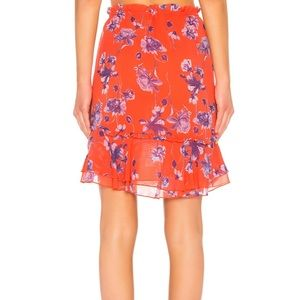 0fae86f15d57 House of Harlow 1960 Skirts - House of Harlow x Revolve chiffon Floral skirt